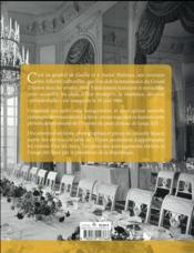 Un président chez le roi ; De Gaulle à Trianon - 4ème de couverture - Format classique