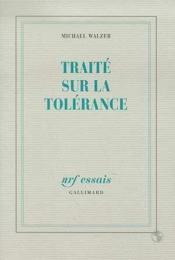 Traité sur la tolerance - Couverture - Format classique