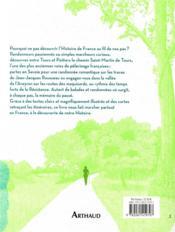 L'histoire de France en 99 marches - 4ème de couverture - Format classique
