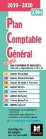 Plan comptable général ; PCG (édition 2019/2020) - Couverture - Format classique