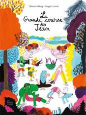 La grande course des Jean - Couverture - Format classique