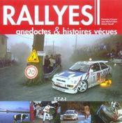 Rallyes, anecdoctes & histoires vécues - Intérieur - Format classique