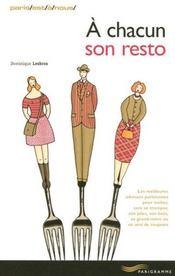 A Chacun Son Resto 2006 - Intérieur - Format classique