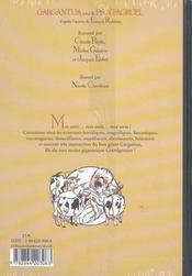 Gargantua - 4ème de couverture - Format classique