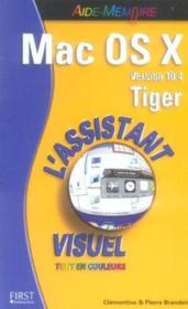 Mac Os X 10.4 Tiger - Couverture - Format classique
