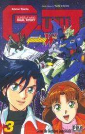 Mobile Suit Gundam Wing G-Unit T.3 - Couverture - Format classique