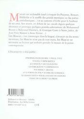 Fable - 4ème de couverture - Format classique
