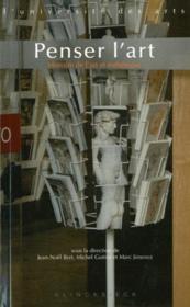 Penser l'art ; histoire de l'art et esthétique - Couverture - Format classique