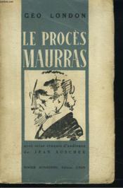 Le Proces Maurras. - Couverture - Format classique