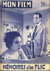 Mon Film N° 505 - Memoires D'Un Flic - Couverture - Format classique