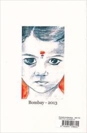 Portraits de Bombay - 4ème de couverture - Format classique