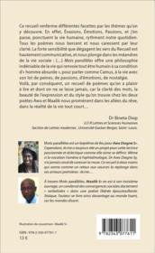 Mots paralleles poesie - 4ème de couverture - Format classique