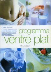 Programme Ventre Plat - Couverture - Format classique