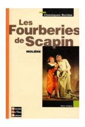 Les fourberies de Scapin - Couverture - Format classique