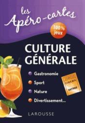 Apéro-cartes culture générale - Couverture - Format classique