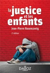 La justice et les enfants - Couverture - Format classique
