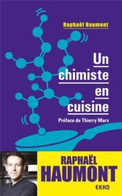 Un chimiste en cuisine - Couverture - Format classique