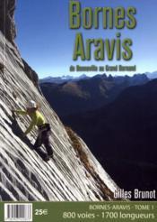 Bornes Aravis t.1 ; de Bonneville au grand bornand, 800 voies, 1700 longueurs (édition 2017) - Couverture - Format classique