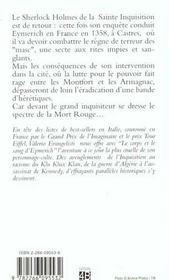 Nicolas Eymerich, inquisiteur T.3 ; le corps et le sang d'Eymerich - 4ème de couverture - Format classique