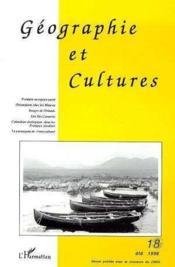 Géographie et cultures t.18 - Couverture - Format classique