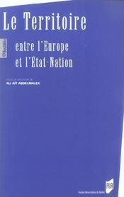 Territoire, entre l europe et l etat nation - Intérieur - Format classique