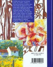 101 astuces acrylique - 4ème de couverture - Format classique