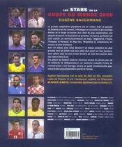 Les stars de la coupe du monde - 4ème de couverture - Format classique