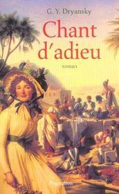 Chant D'Adieu - Intérieur - Format classique
