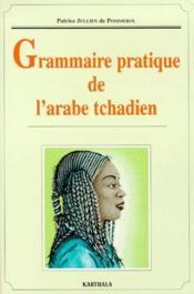 Grammaire de l'arabe tchadien - Couverture - Format classique