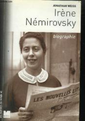 Irene nemirovsky biographie - Couverture - Format classique