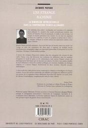 Une étrange alchimie ; la dimension interculturelle dans la coopération franco-allemande (5e édition) - 4ème de couverture - Format classique