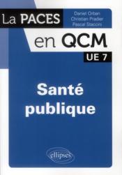 telecharger Sante publique – UE 7 livre PDF/ePUB en ligne gratuit
