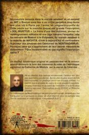 La Malediction De Nostradamus - 4ème de couverture - Format classique