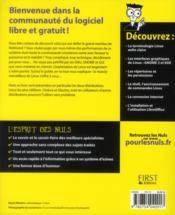 Linux pour les nuls (10e édition) - 4ème de couverture - Format classique