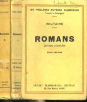 Romans. Edition Complete. En 2 Tomes. - Couverture - Format classique