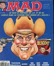 Mad N°6 Se Paye Le Portrait De J.R Et De Sa Famille Dans Sa Version Tres Dingue De Dallas - Couverture - Format classique