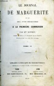 Le Journal De Marguerite - Tome 1 Et 2 - Couverture - Format classique