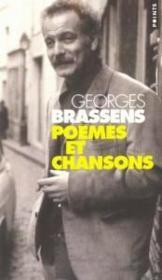 Poemes Et Chansons - Couverture - Format classique