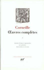 Oeuvres complètes t.1 - Intérieur - Format classique