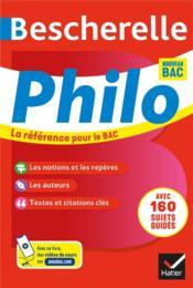 Bescherelle ; philosophie ; terminale (édition 2020/2021) - Couverture - Format classique