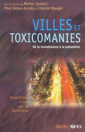Villes et toxicomanies, quelles preventions ? - Intérieur - Format classique