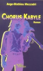 Chorus kabyle - Couverture - Format classique