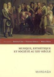 Musique, esthétique et société au XIX siècle - Intérieur - Format classique