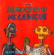 Democratie Mecanique - Couverture - Format classique