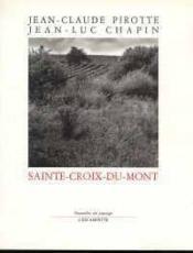Sainte Croix Du Mont - Couverture - Format classique
