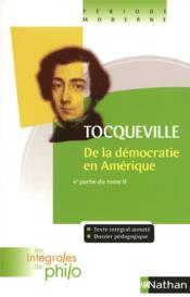 De la démocratie en Amérique t.2 ; 4ème partie - Couverture - Format classique