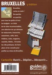 Bruxelles (5e édition) - 4ème de couverture - Format classique
