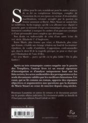 Marie Stuart ; sainte ou putain ? - 4ème de couverture - Format classique