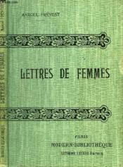 Lettres De Femmes. - Couverture - Format classique