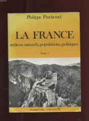 France T.1 Milieux Naturel - Couverture - Format classique